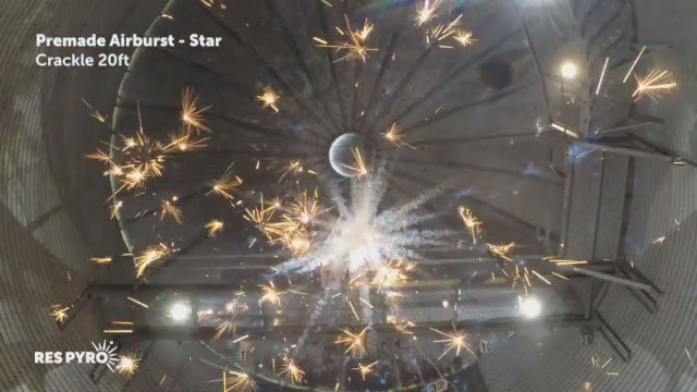 Airburst Star Crackle 20ft