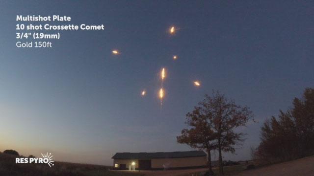 MSP 19mm Crossette Comet Gold 150ft